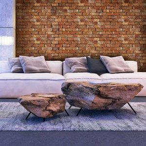 Fotobehang Stenen - Baksteen Classic Design