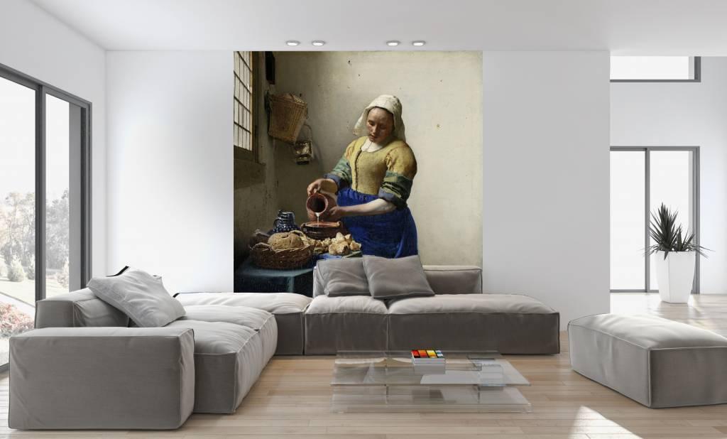 Fotobehang het melkmeisje - Fotos van de slaapkamers ...