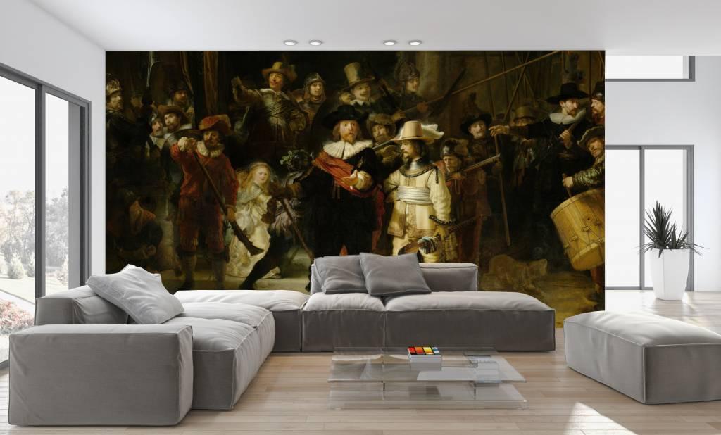 Fotobehang Keuken Design : Fotobehang De Nachtwacht – Walldesign56.com