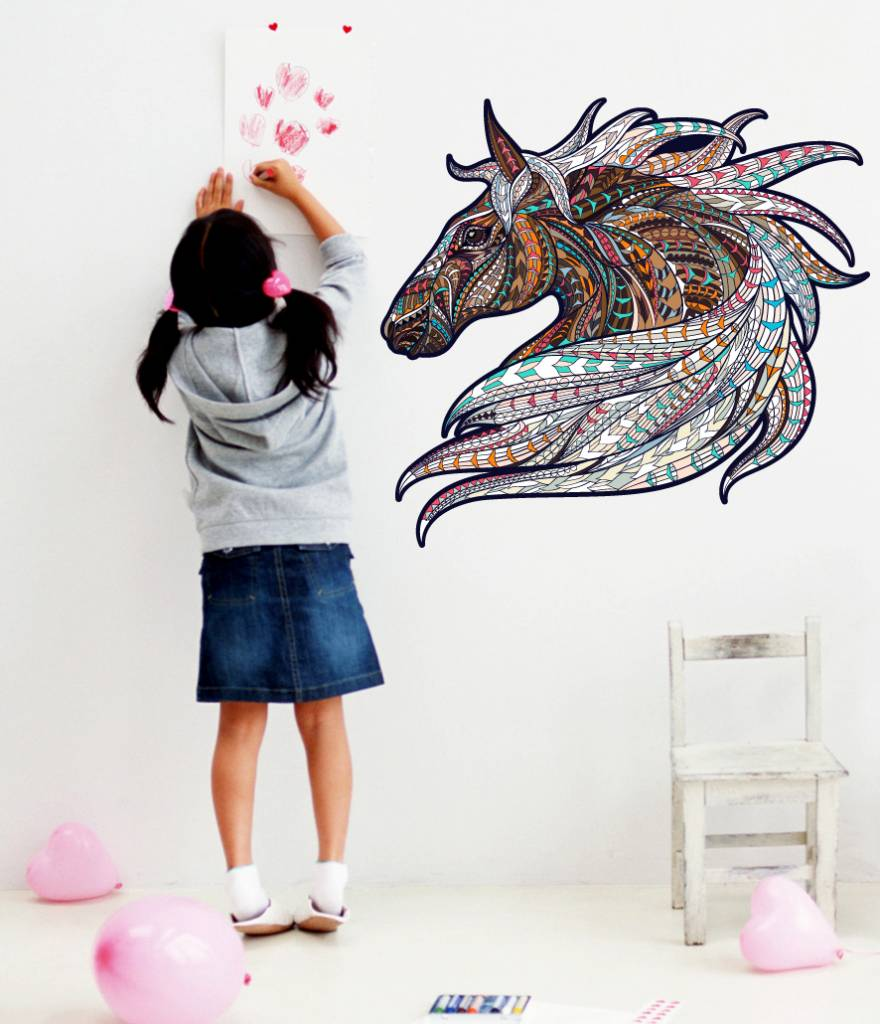 wall sticker horse vintage design walldesign56 wall decals wall sticker horse vintage design