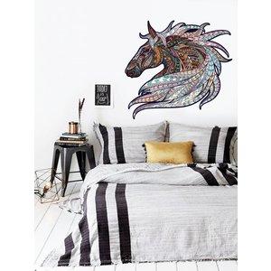 Muursticker Paard Vintage Design