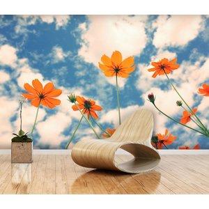 Mural Cosmos Flower