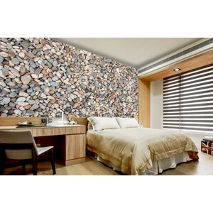 Photo Wall stones - Pebbles