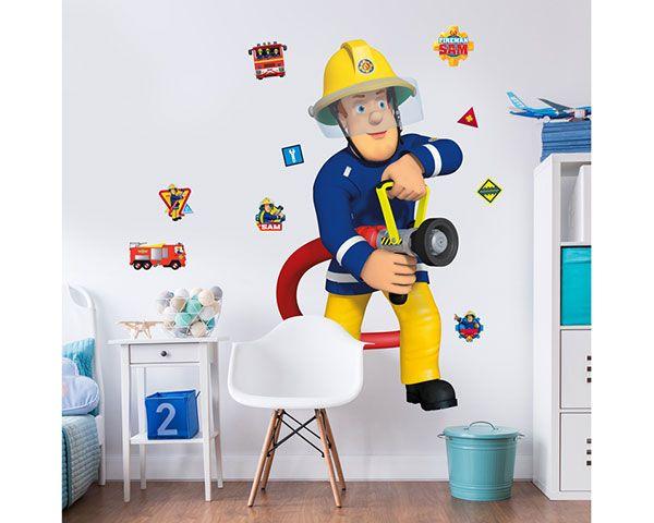 Wall Sticker Fireman Sam