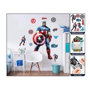 Muursticker Captain America