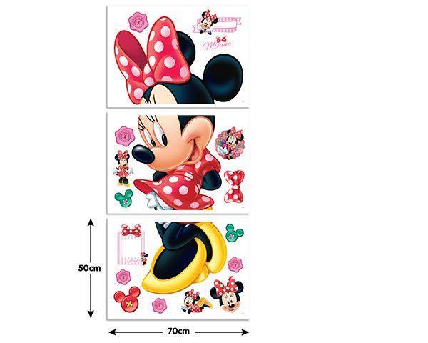 Wandsticker disney minnie mouse walldesign56 wandtattoos fototapete poster - Wandtattoo minnie maus ...