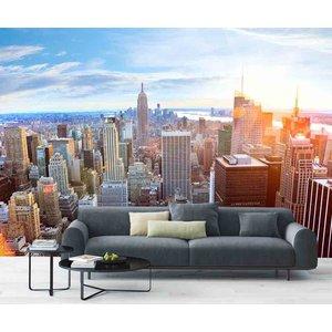 Fotobehang Skyline Manhattan