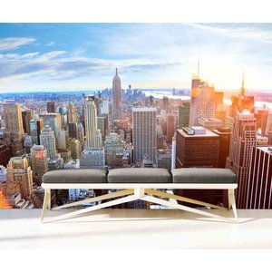 Mural Manhattan Skyline