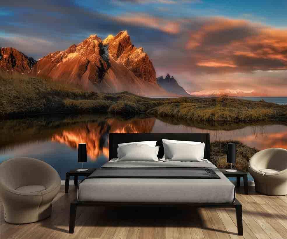 fototapeten berge walldesign56 wandtattoos fototapete poster. Black Bedroom Furniture Sets. Home Design Ideas