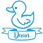 Birth Sticker Duckling