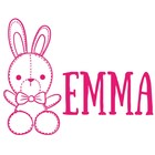Birth Sticker Bunny