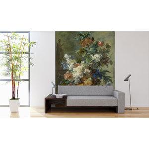 Mural Still Life with Flowers - Jan van Huysum