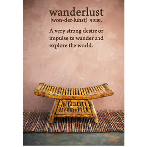 Wall Decal Wanderlust