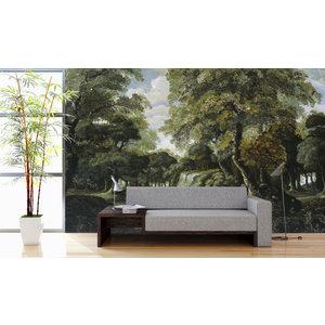 Mural Blick auf den Wald