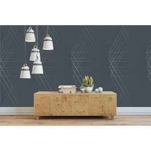 Photo Wallpaper Line Geo Design
