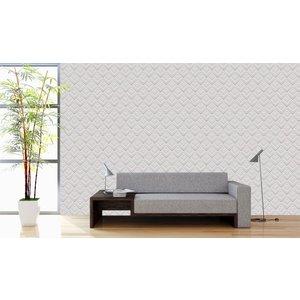 Photo Wallpaper Retro White