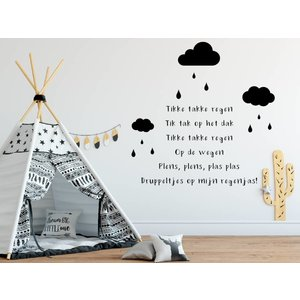 Wall sticker Rabbit - Hello Handsome - Copy