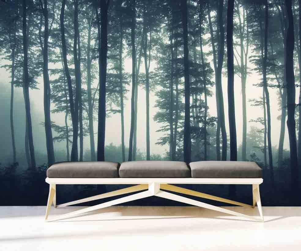 Fototapete Wald Schlafzimmer: Hinblick
