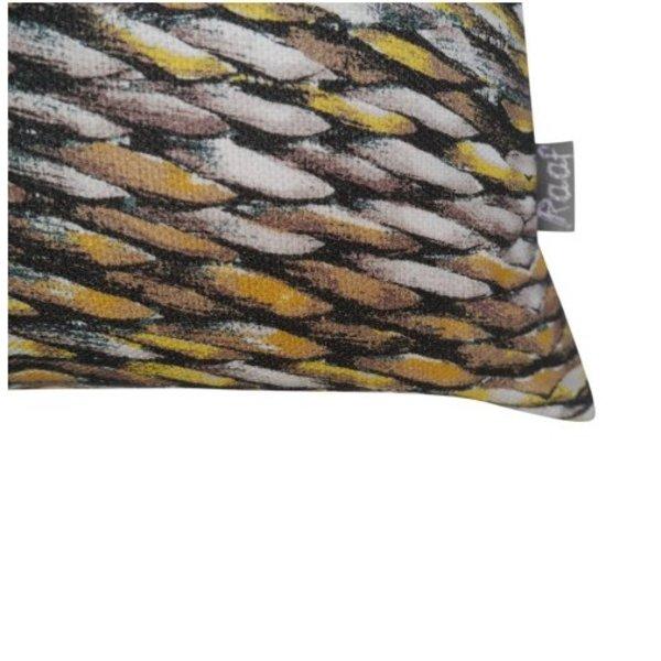 Pot / vaas / Waxinelichthouder Rope yellow