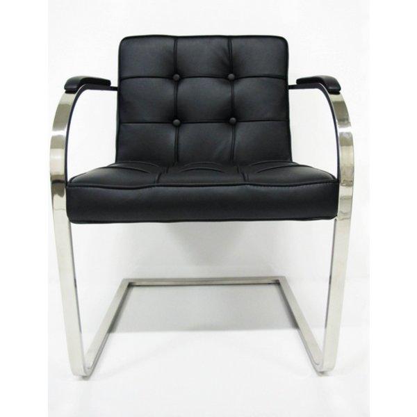 Chair Bauhaus 9 boxes black