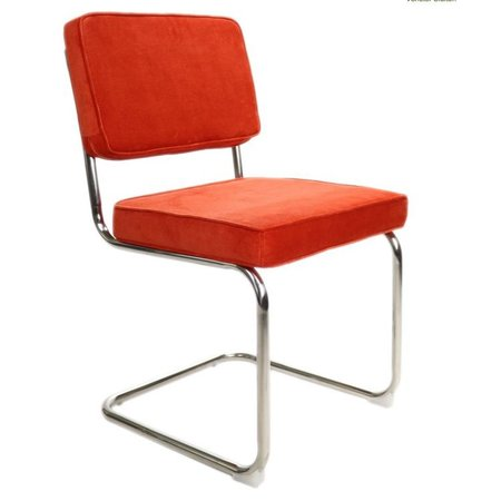 Het Landhuys Rib Chair orange
