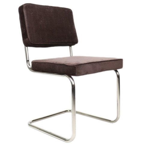Het Landhuys Rib Chair brown