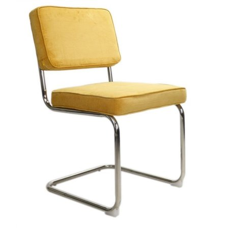 Het Landhuys Rib Chair yellow