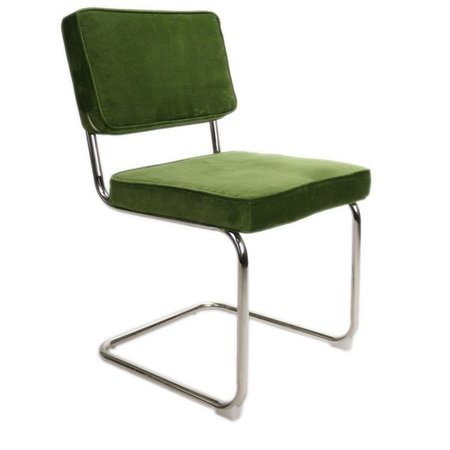 Het Landhuys Rib Chair green