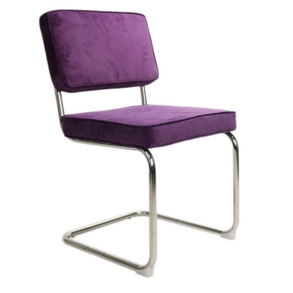 Rib Chair purple