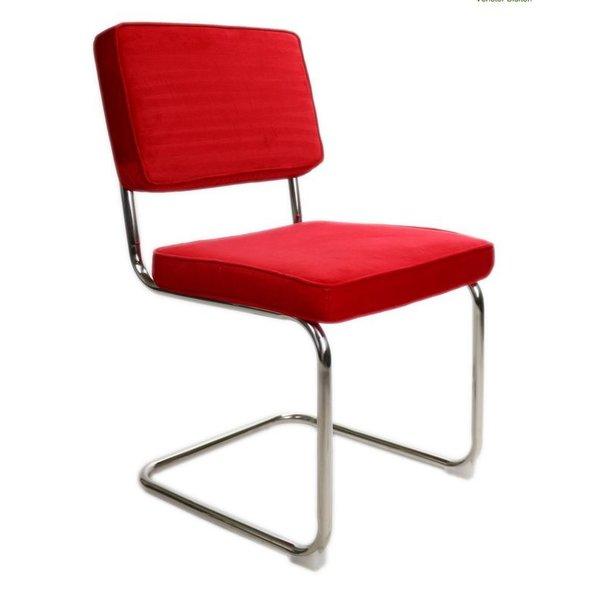 Rib Chair red