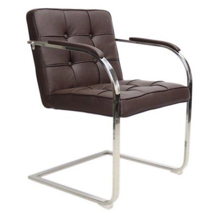 Het Landhuys Chair Bauhaus 9 boxes dark brown