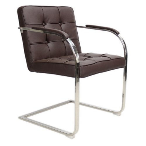 Het Landhuys Bauhaus 9Vaks stoel - donkerbruin