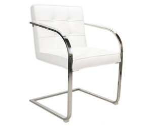 Bauhaus vaks stoel wit bauhaus stoelen bij het landhuys