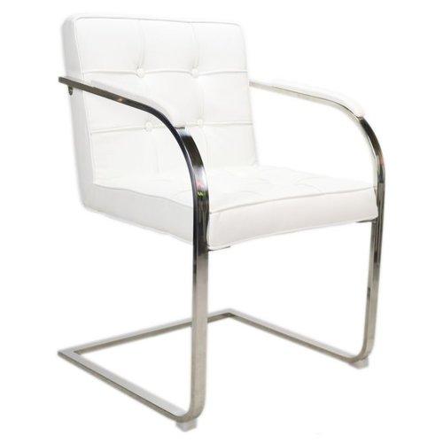 Het Landhuys Bauhaus 9 vaks  stoel - Wit