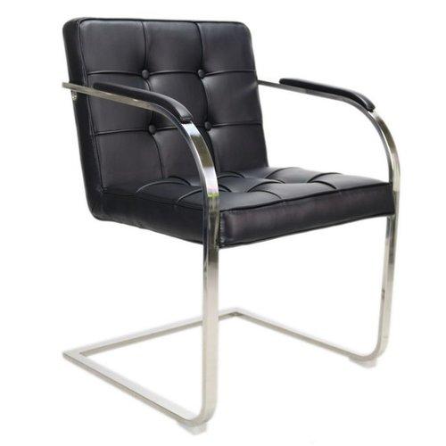 Het Landhuys Bauhaus 9Vaks stoel zwart