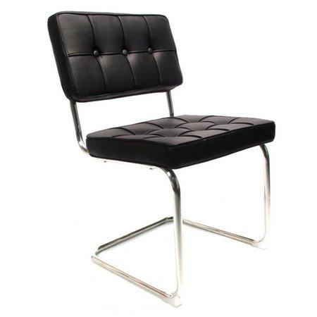 Het Landhuys Stoel Bauhaus zwart