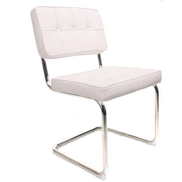 Design stoel Bauhaus wit