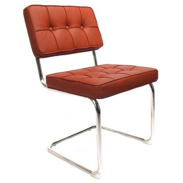 Design stoel Bauhaus cognac