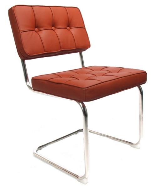 Design stoel bauhaus cognac het landhuys home for Bauhaus stoel vintage