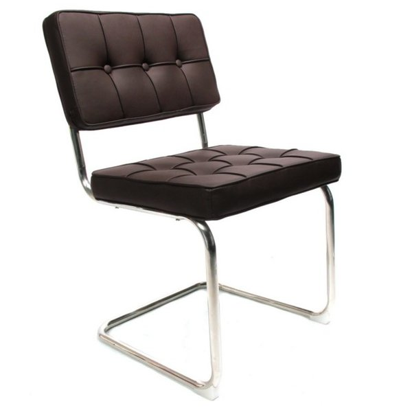 Chair Bauhaus dark brown