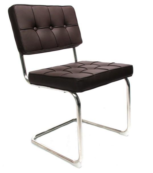 Design chair bauhaus dark brown  Luxury home & lifestyle