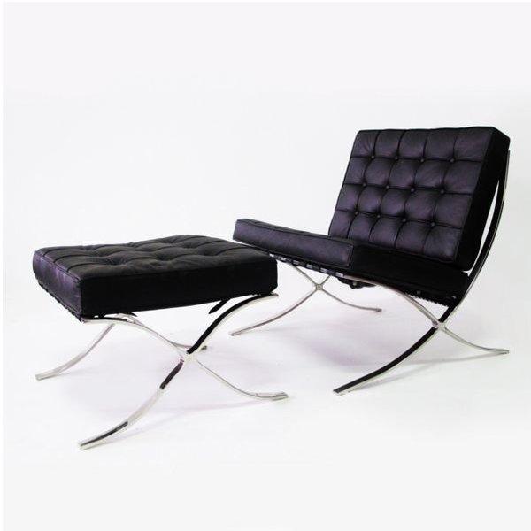 Design - Barcelona chair black