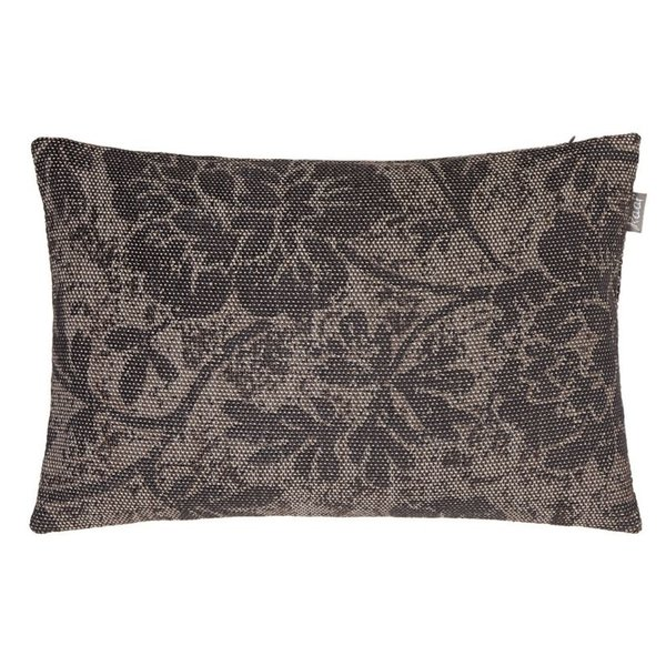 Cushion cover Vintage flower taupe 35x50