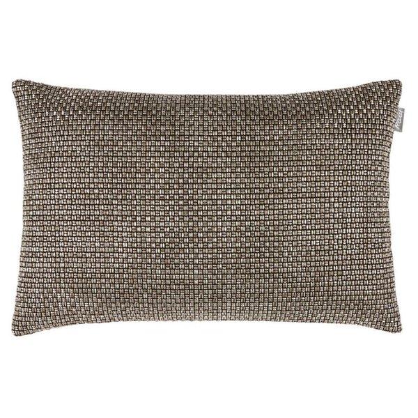 Cushion cover Melvin dark taupe 35x50