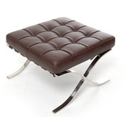 Het Landhuys Stool Barcelona darkbrown
