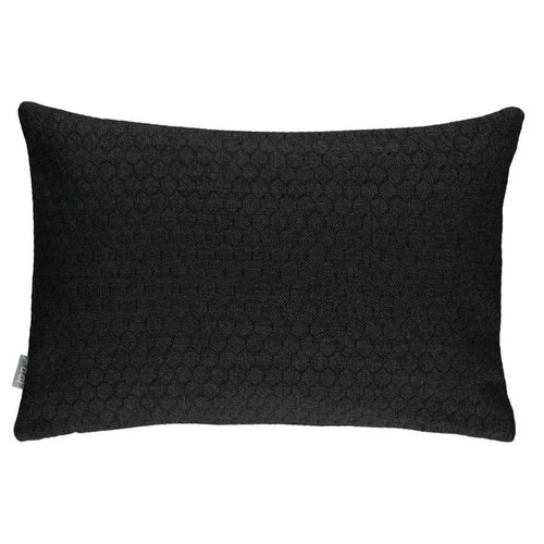Raaf Cushion cover Bijenkorf black 35x50