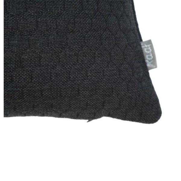Raaf Sierkussenhoes Bijenkorf zwart 35x50