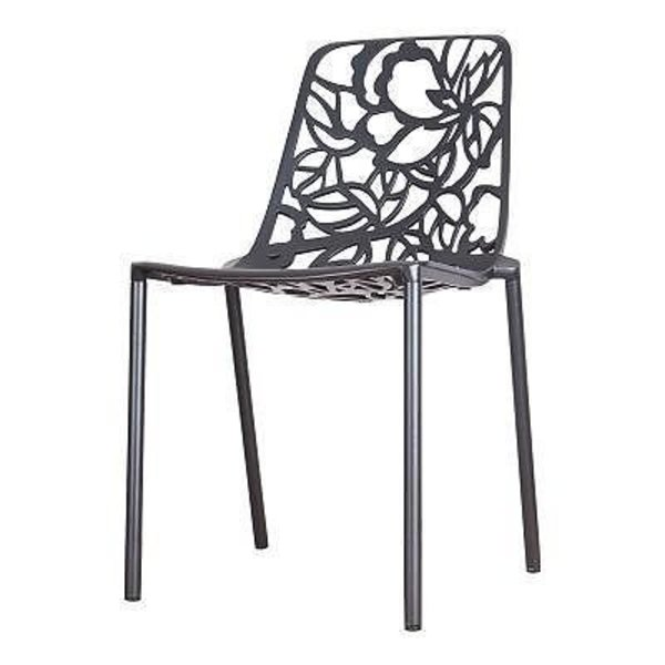 Chair Black/White (without armrests)