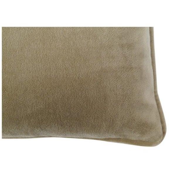 cushion Vera green 40x40