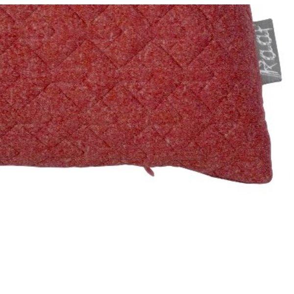 Cushion cover Fee zacht rood 35x50